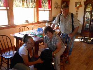 Brenda, Chuck and Nola with Jason.