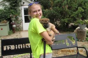 One of Freida's puppies!